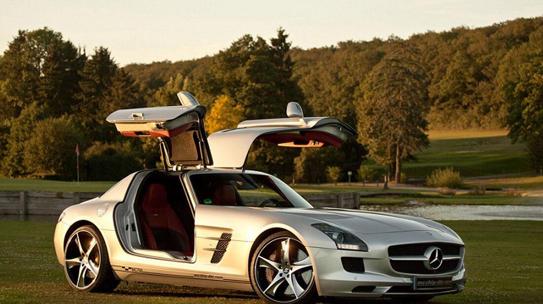 Mercedes Benz SLS AMG, Tuning, mcchip-dkr, MC-700