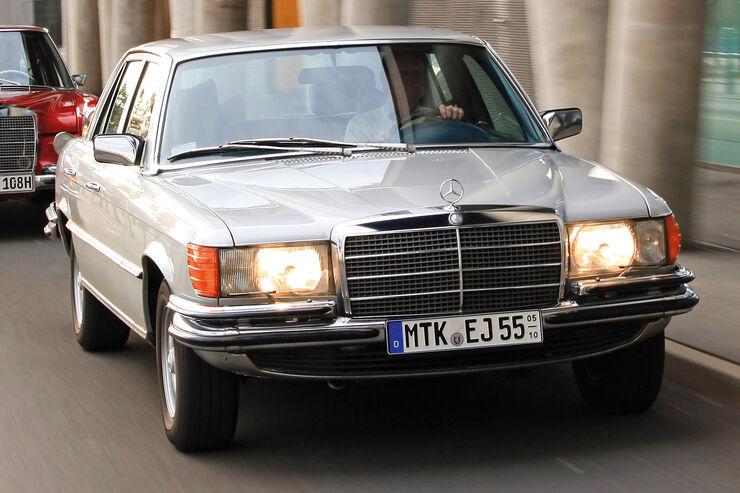 Mercedes-Benz W 116, Frontansicht
