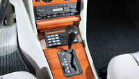 Mercedes-Benz W 126, Mittelkonsole