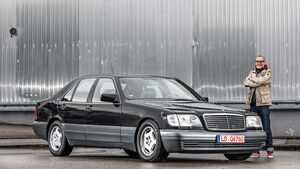 Mercedes-Benz W140, Frontansicht, Michael Orth