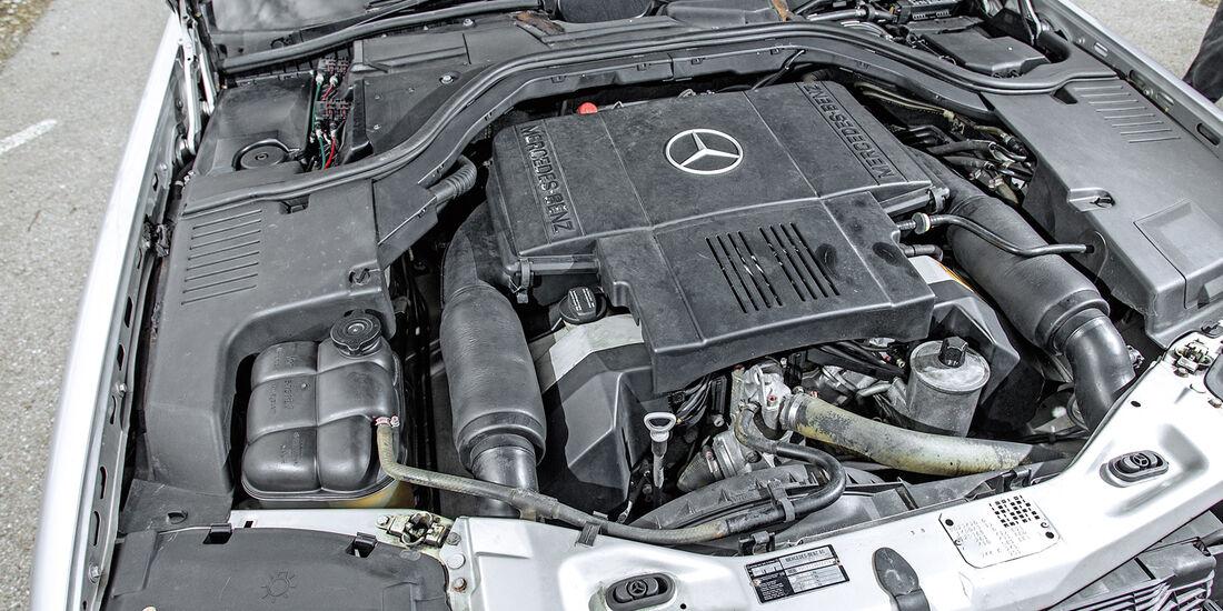 Mercedes-Benz W140, V8/V12, Motor
