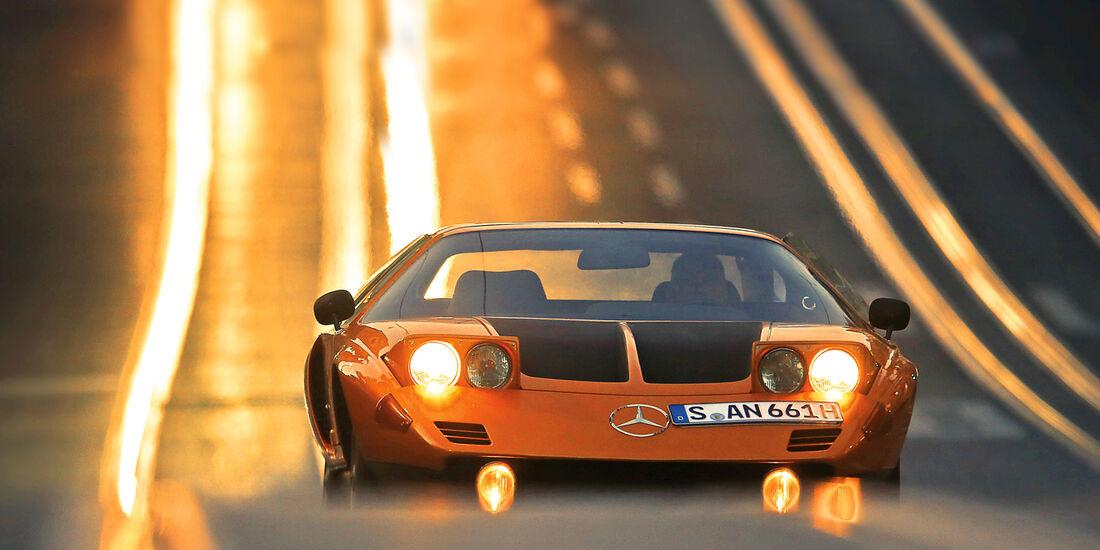 Mercedes C 111 Im Fahrbericht Dem Autohimmel Ganz Nah Auto Motor