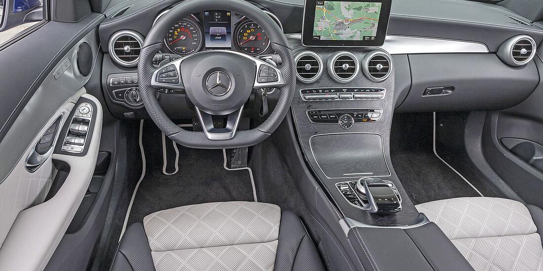 Mercedes C 160 T, interieur