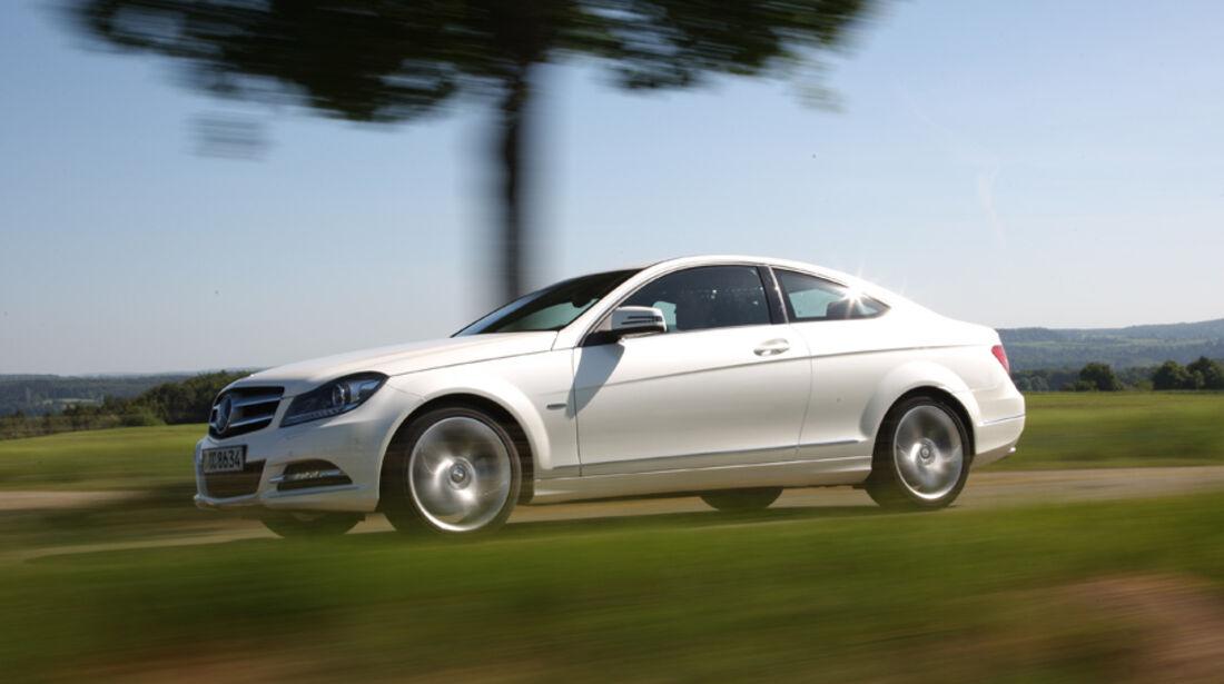 Mercedes C 180 Coupé, Seitenansicht