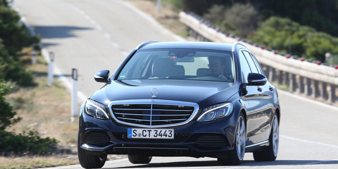 Mercedes C 250 T BT, Frontansicht