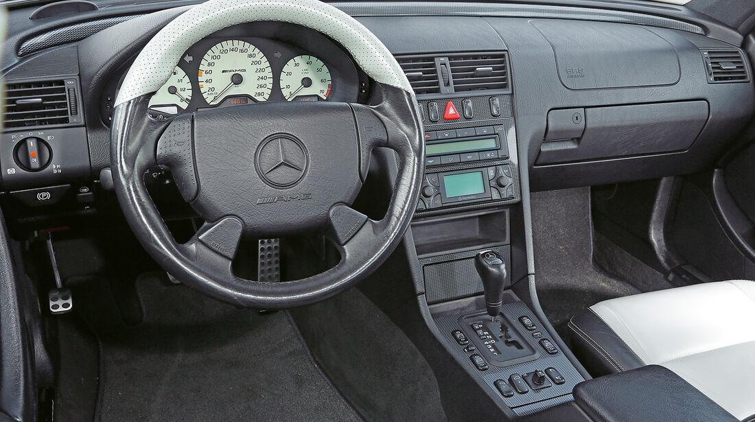 Mercedes C 43 AMG, Cockpit