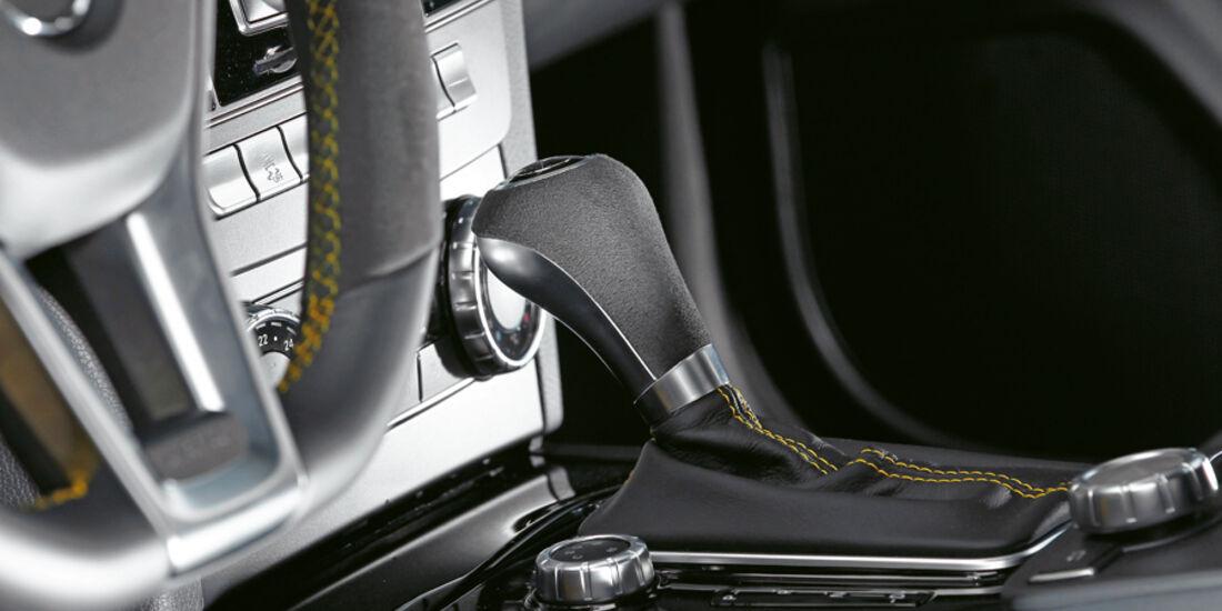 Mercedes C 63 AMG Coupé Black Series, Schalthebel