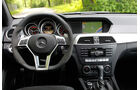 Mercedes C 63 AMG Coupe Performance Package, Cockpit, Lenkrad