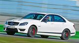 Mercedes C 63 AMG Edition 507, Seitenansicht
