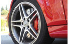 Mercedes C 63 AMG Performance Package, Vorderrad, Felge
