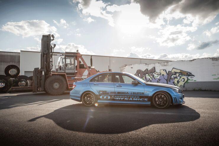 Mercedes C 63 AMG von Carbonfiber Dynamics