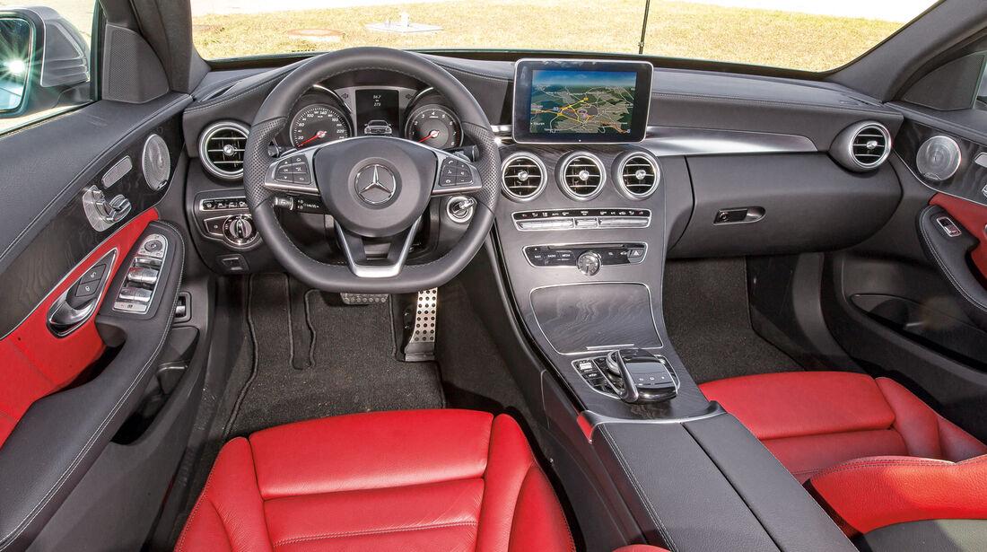 Mercedes C-Klasse T-Modell, Cockpit
