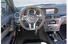 Mercedes C63 Edition 507, Cockpit, Lenkrad