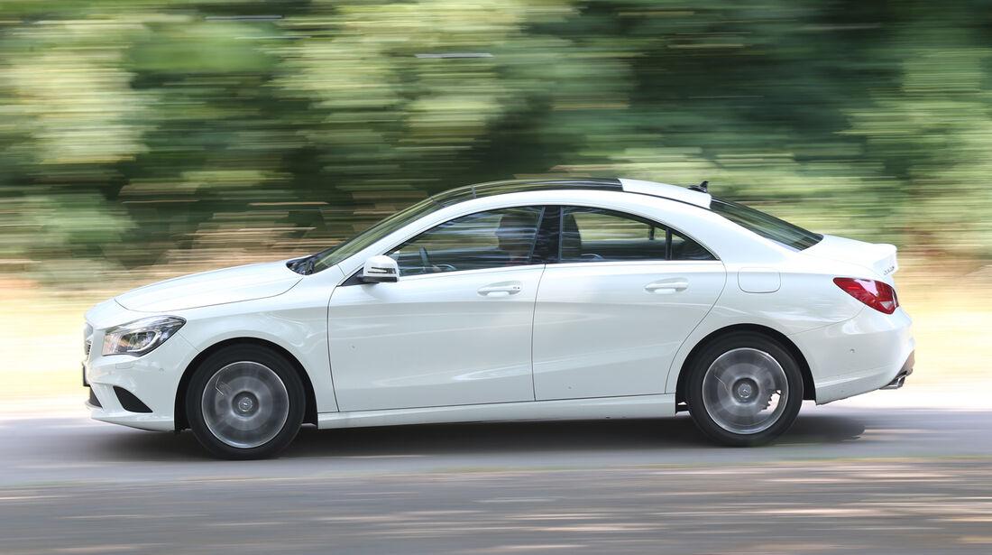 Mercedes CLA 220 CDI, Seitenansicht