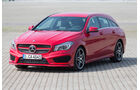 Mercedes CLA 250 Shooting Brake AMG Line, Frontansicht