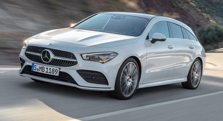 Mercedes CLA Shooting Brake (2019) Fahraufnahme
