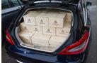 Mercedes CLS 250 CDI SB, Kofferraum, Ladefläche, Kisten