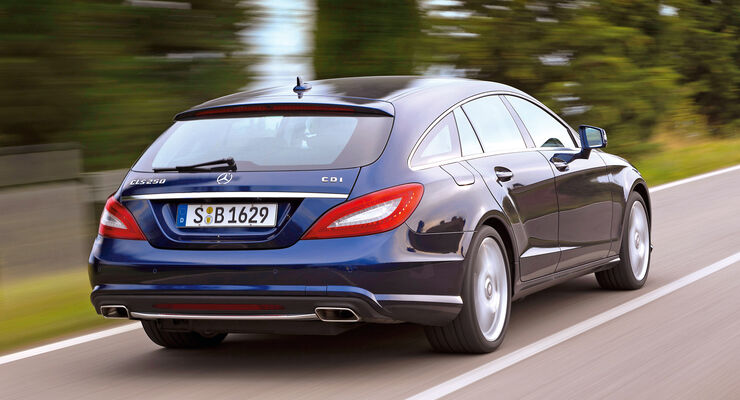 Mercedes CLS 250 CDI Shooting Brake, Heckansicht