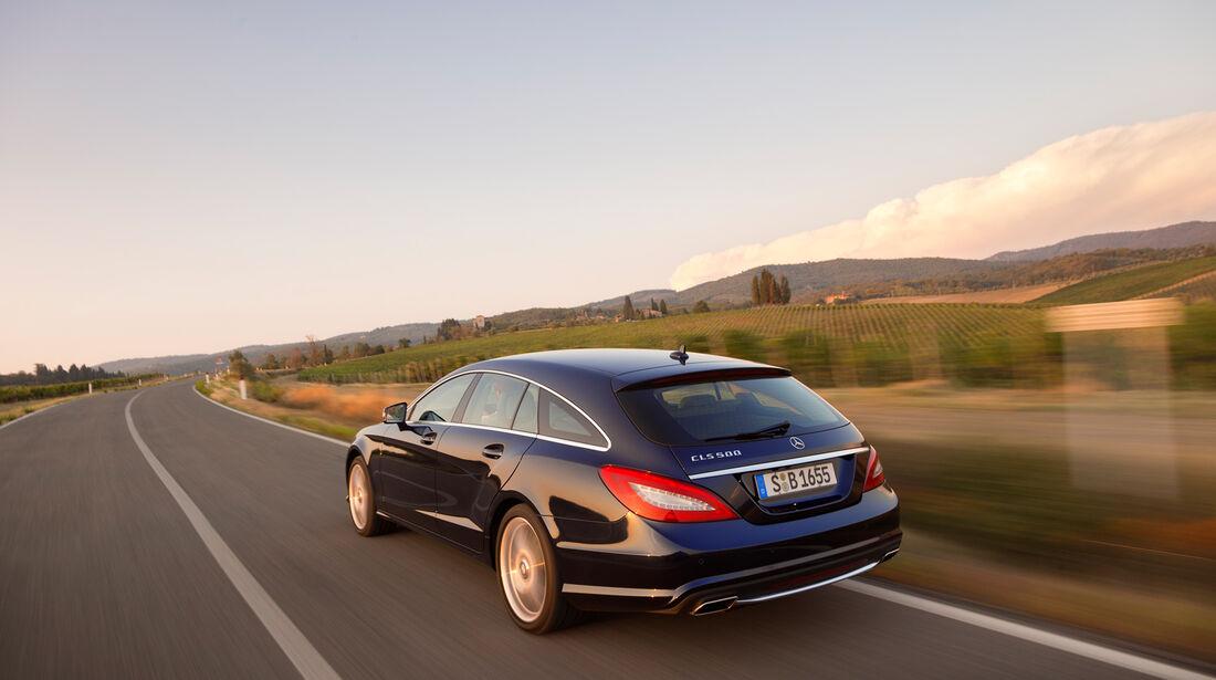 Mercedes CLS 250 CDI Shooting Brake, Heckansicht