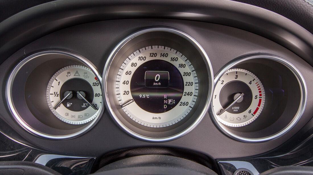 Mercedes CLS 250 CDI Shooting Brake, Rundinstrumente