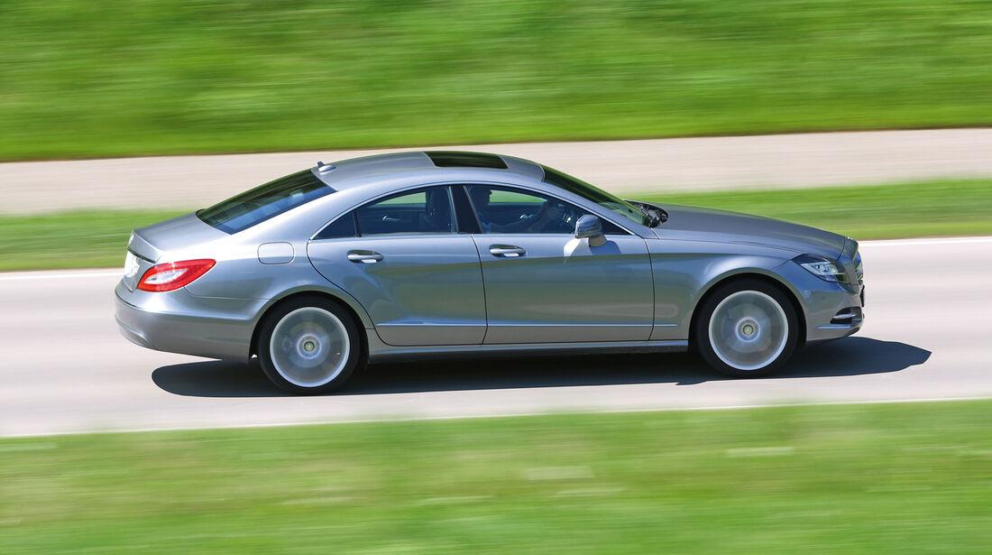Mercedes CLS 350, Seitenansicht