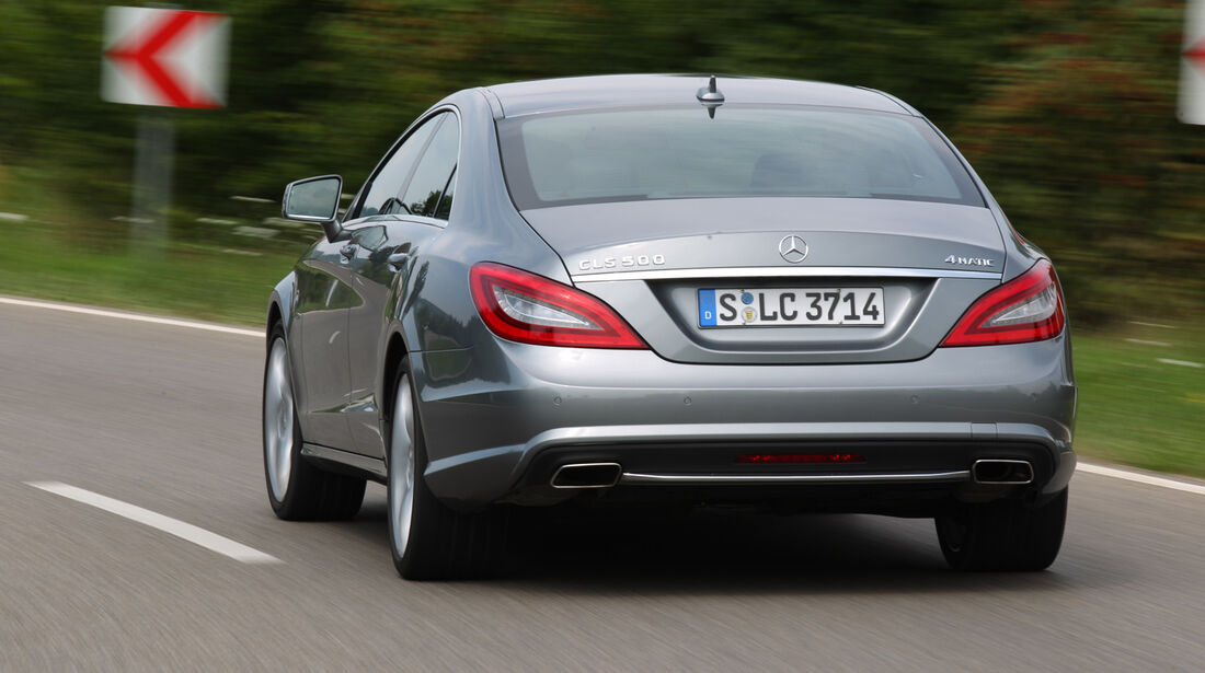 Mercedes CLS 500 4matic, Heckansicht