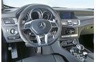 Mercedes CLS 63 AMG, Cockpit, Lenkrad
