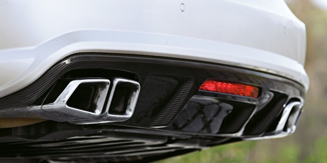 Mercedes CLS 63 AMG Performance Package, Auspuff