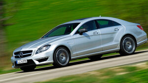 Mercedes CLS 63 AMG Performance Package, Seitenansicht