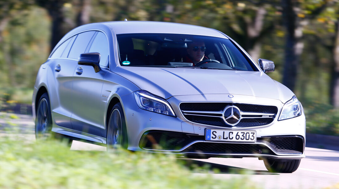 Mercedes CLS 63 AMG S Shooting Brake, Frontansicht
