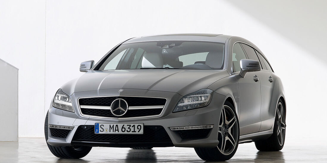 Mercedes CLS 63 AMG Shooting Brake,