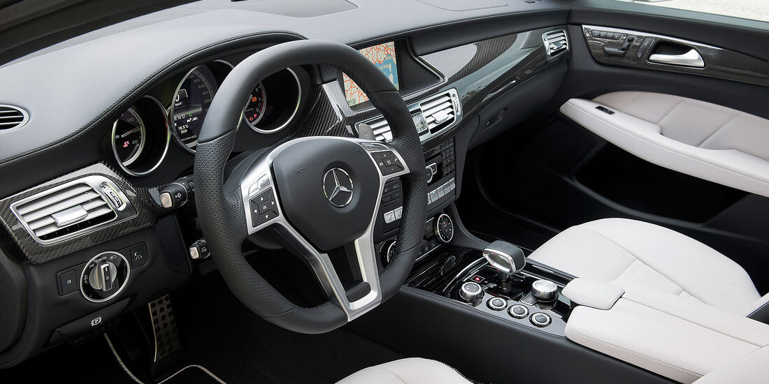 Mercedes CLS 63 AMG Shooting Brake, Innenraum, Cockpit