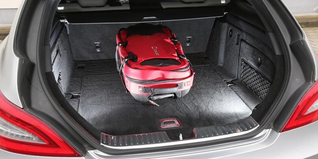 Mercedes CLS 63 AMG Shooting Brake, Kofferraum