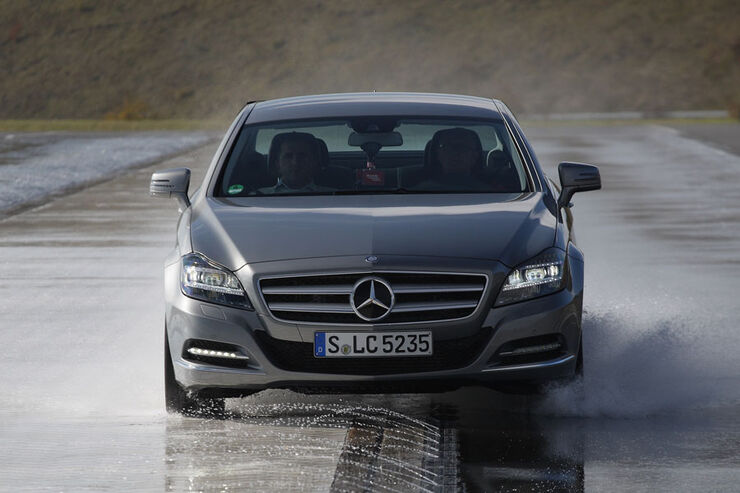 Mercedes CLS, Bremstest