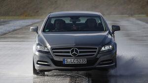 Mercedes CLS, Bremstest