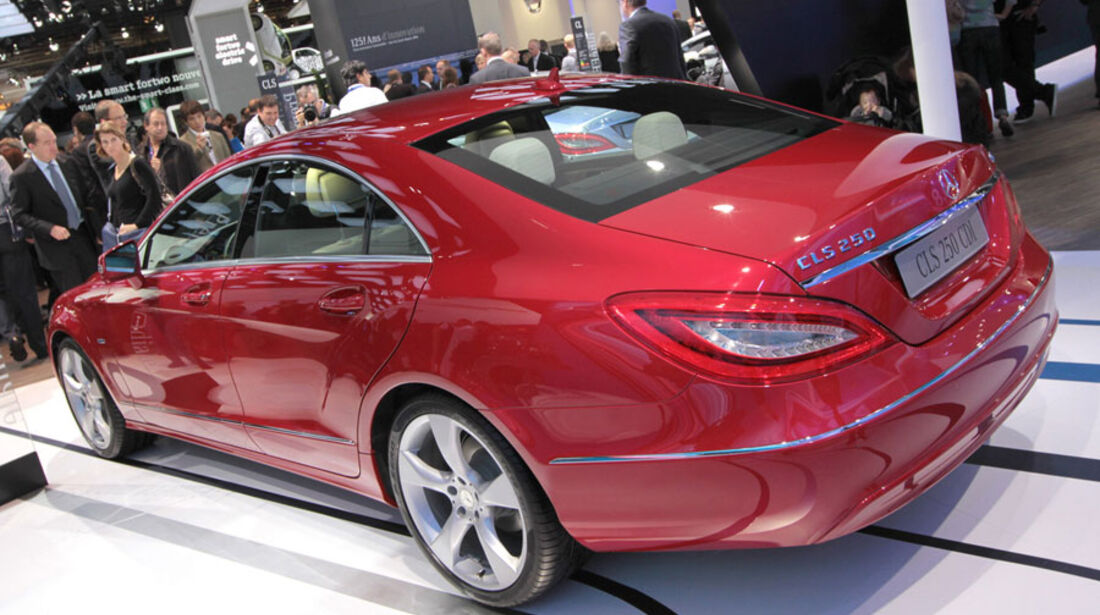Mercedes CLS Paris 2010