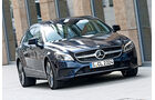 Mercedes CLS Shooting Brake, Frontansicht