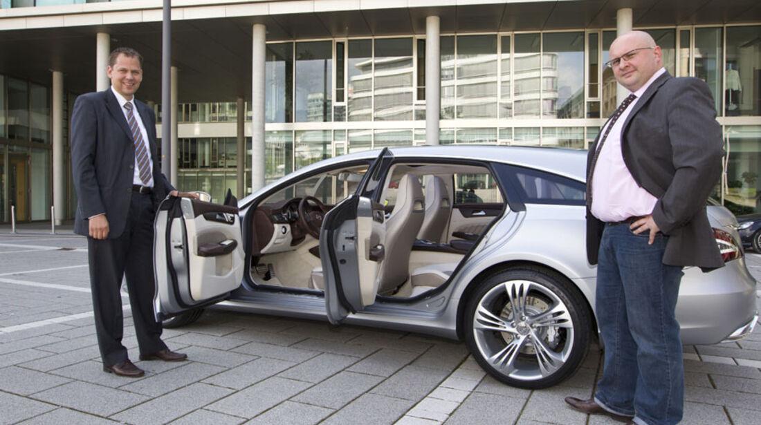 Mercedes CLS Shooting Break, Innenraum