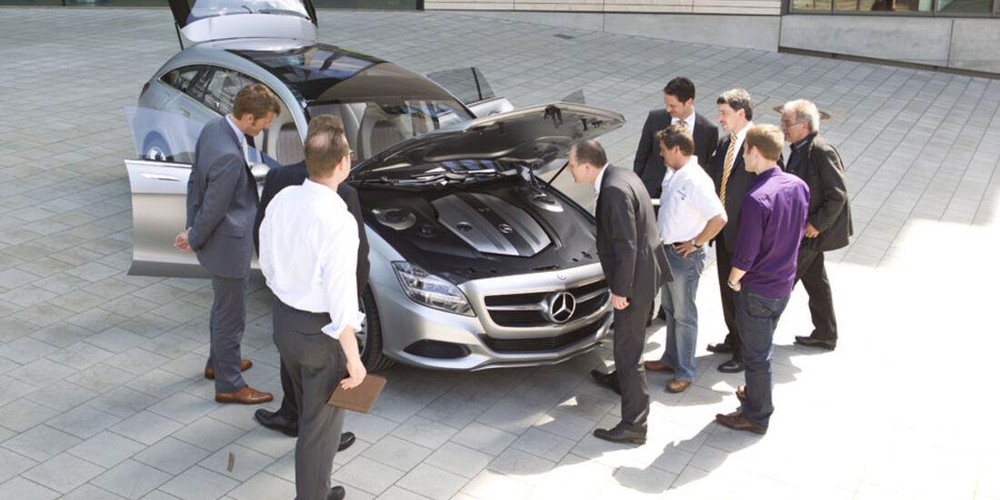 Mercedes CLS Shooting Break, Motor