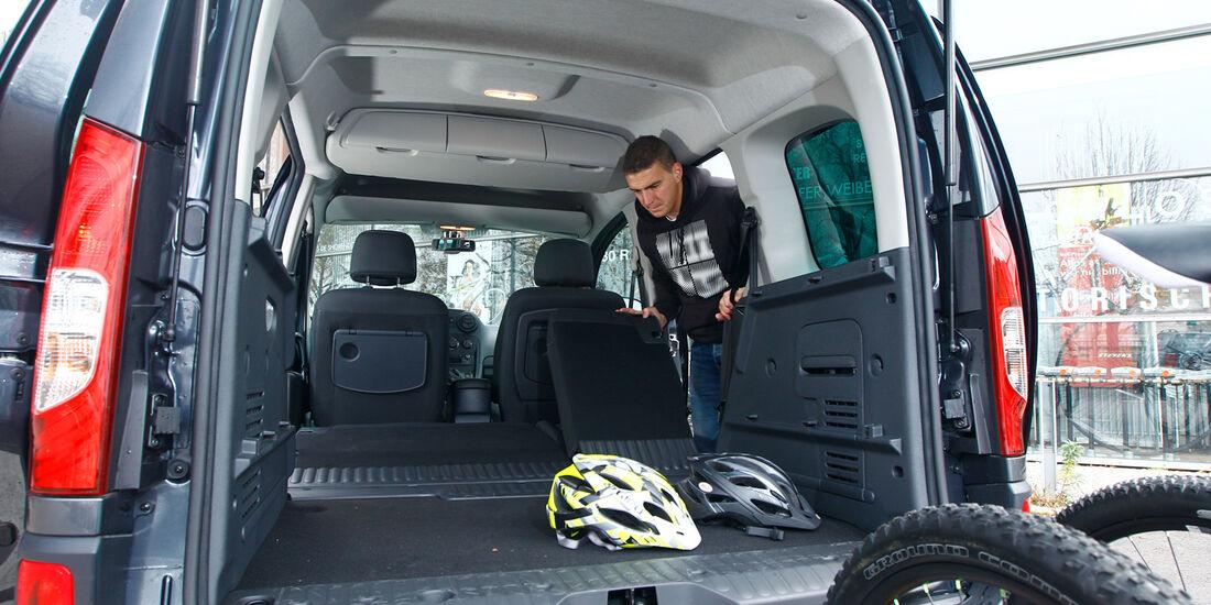 Mercedes Citan 109 CDI, Kastenheck, Kofferraum