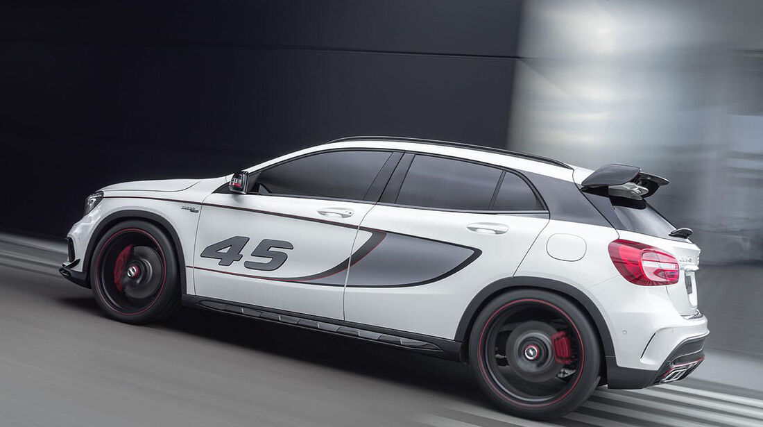 Mercedes Concept GLA 45 AMG