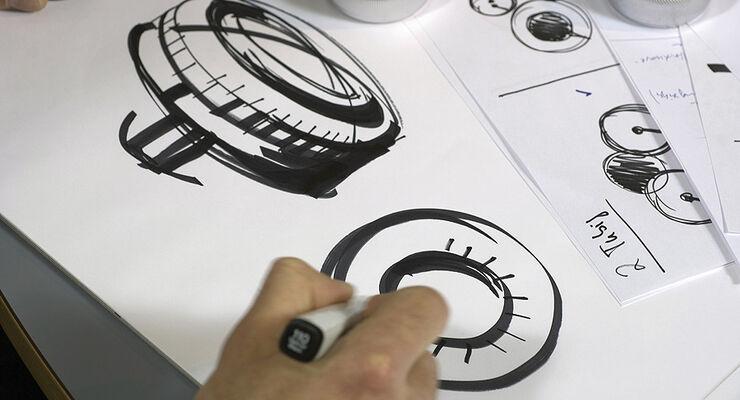 Mercedes-Design Mercedes CL Zeichnung