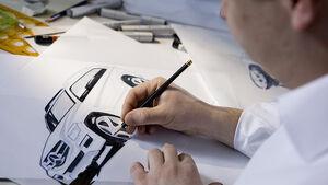 Mercedes-Design Mercedes GLK Zeichnung