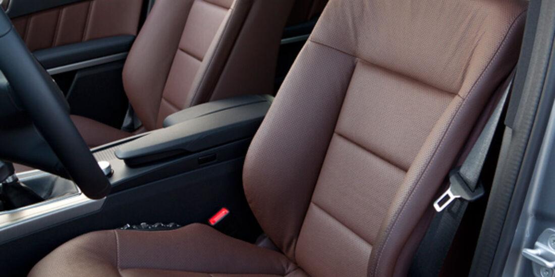 Mercedes E 200 T Avantgarde, Sitze