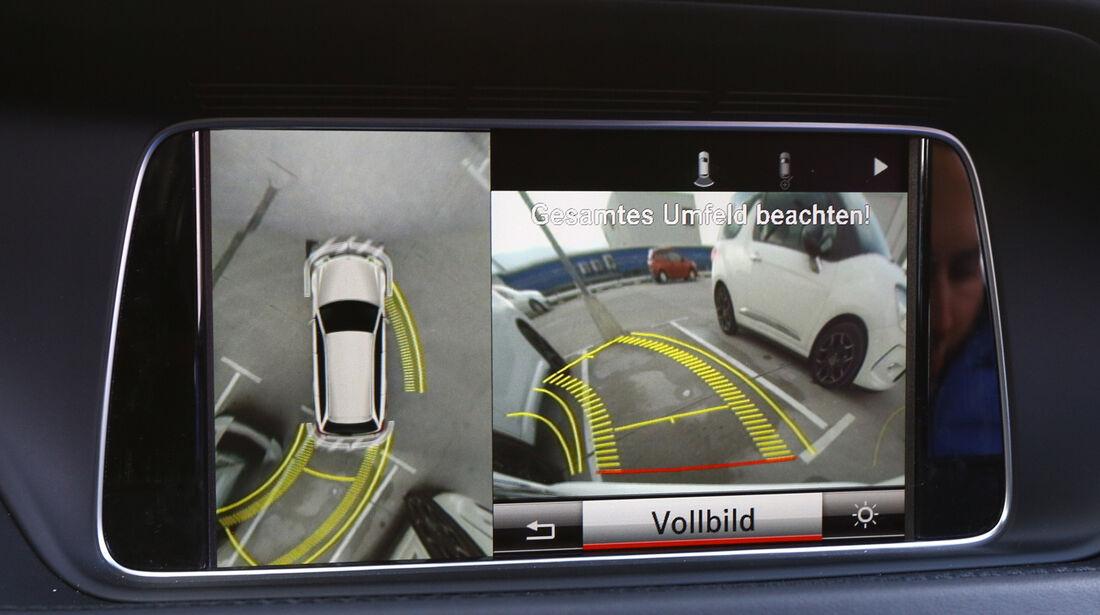 Mercedes E 200 T, Rückfahrkamera, Parkhilfe