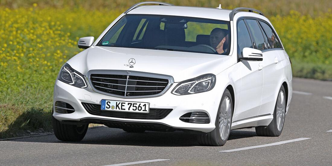 Mercedes E 220 Bluetec T, Frontansicht