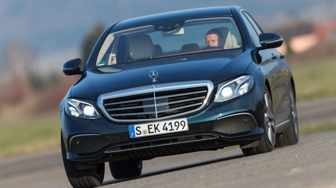 Mercedes E 220 d, Frontansicht
