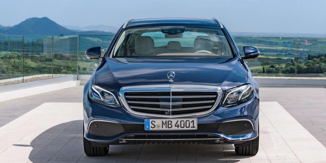 Mercedes E 220 d T-Modell, Frontansicht
