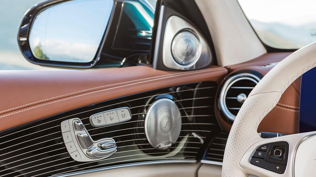 Mercedes E 220 d T-Modell, Seitenspiegel
