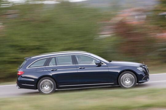 Mercedes E 220 d T, Seitenansicht